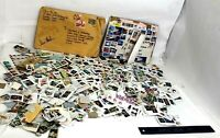 LOTof USA & World  Stamps used on and off paper - Lot 800 +++++