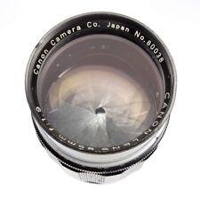 Canon RF Black 85mm f1.9 Leica SM Type 5 #80038