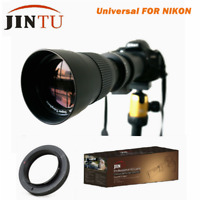 420-800mm Telephoto Lens for Nikon D5300 D5100 D3400 D3300 D3200 D3100 D3000 D90