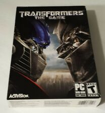 BRAND NEW SEALED PC BOX -- Transformers: The Game (PC DVD-ROM, 2007)