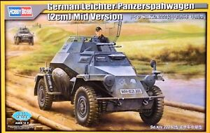 Hobbyboss 1:35 Sd.Kfz.222 Leichter Panzerspahwagen (2cm) Mid Version Model Kit