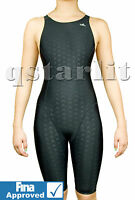 NWT FINA Approved Girls Women Female Racing Competition Kneeskin Swimwear 24- 36