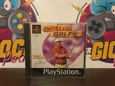 ACTUA GOLF - SONY - PLAYSTATION 1 - COMPLETO - ITA - PAL