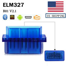 ELM327 V1.5 OBD2 Bluetooth Car Diagnostic Auto Interface Scanner For Android
