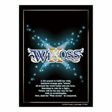 Wixoss Black Lostorage Ver. Card Game Character Sleeves Collection Anime Art