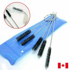 5pc SET Nylon Stainless Steel Brush Shank Pipe Tube Tobacco Cleaner