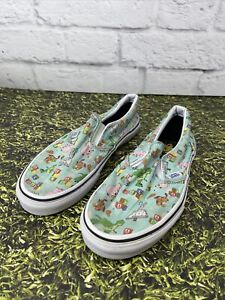 VANS Toy Story Kids Size 4 Slip On Sneakers Andy