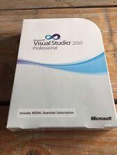 Microsoft Visual Studio 2010 Professional Englisch Vollversion mit MwSt-Rechnung