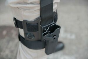 Blueline Colt Holster System And Double Magazine pouch - Perfect For Airsoft
