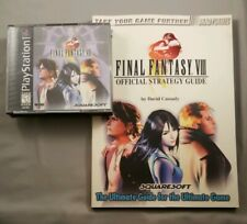 Final Fantasy VIII(8) PlayStation1 PS1 Game & Official Strategy Guide BradyGames