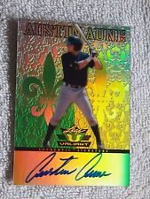 New York Yankees Auston Aune Signed 2011 Leaf Valiant Certified Auto Card