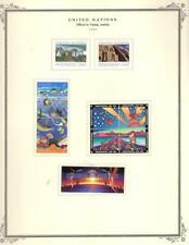 1¢ WONDER ~UNITED NATIONS OFFICES IN VIENNA AUSTRIA MODERN MH ON SCOTT PAGE~V130