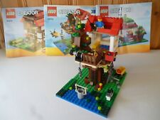 LEGO 31010 Creator Treehouse 3 in 1 Set, Complete With Instructions