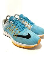 Womens 9 Nike Zoom Elite 8 Running Shoes 748589-401 Blue/Orange