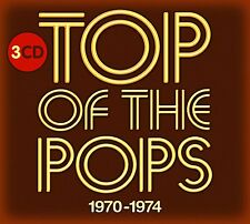 TOP OF THE POPS 1970 - 1974 3 CD SET - NEW RELEASE SEPTEMBER 2016