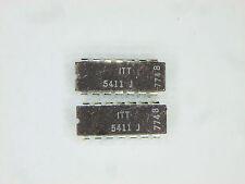 "ITT 5411J  ""Original"" ITT  14P DIP IC ANA 7411 TTL 2  pcs"