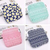 Female Hygiene Hygienic Absorbents Cotton Small Zipper Bag Sanitary Towel Bags