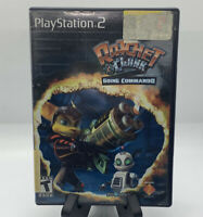 Ratchet & Clank Going Commando PS2 No Manual Tested Sony PlayStation 2 Ps2 Good