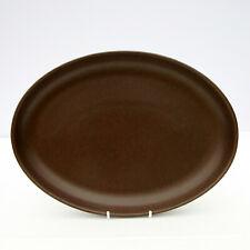 Vintage Retro 1960s Denby Langley Mayflower Natural Homemaker Oval Dinner Plate