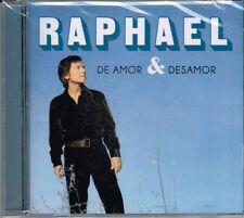 Raphael DE Amor & Desamor  BRAND NEW SEALED CD