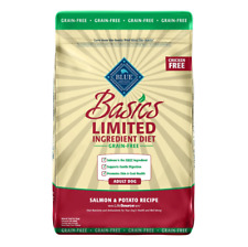 New Basic Limited Ingredient Grain Free Salmon & Potato Recipe Dog Food - 22 lb