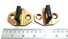 Plate Assy Door Lock Striker Latch 2 Pc For Nissan Big-M D21 Hardbody 1990 1997