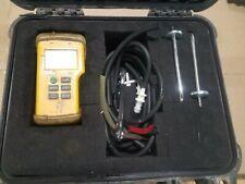 UEI TEST INSTRUMENTS EM201B Digital Manometer,-60 to +60 In.WG