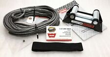 WARN 72128 Synthetic Winch Rope Replacement Kit with Roller Fairlead