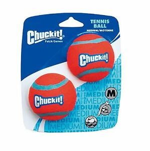 Chuckit! 2-Pack Medium Tennis Ball Posted today if paid before 1PM