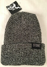 Stone Brewing Company Marled Beanie Cap Stocking Hat Winter Craft Beer Brew Pom