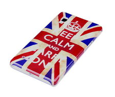 Funda f LG Optimus l9 p760 funda protectora case cover bolso keep Calm Inglaterra UK GB
