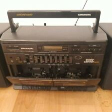 Radio Cassetten Recorder Grundig Party Center 2600 5 Band Graphic Equalizer