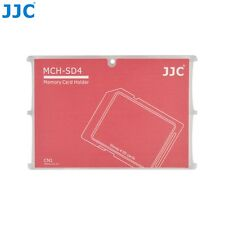 JJC Memory Card Case for 4x SD Cards - Red Edition - MCH-SD4