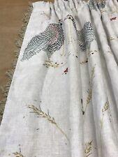 Susie Watson,Guinea Fowl,Beach Sail,Fan Trim,Interlined Curtains,Hand Sewn