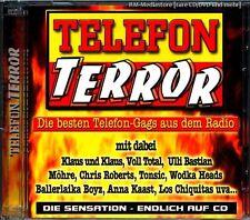 TELEFON TERROR - Die besten Telefon-Gags aus dem Radio -- 2 CD  NEU & OVP