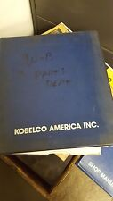 Kobelco K914 Parts Manual