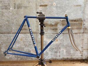 Vintage 1970's Belgian Diamant steel frame frameset Shimano