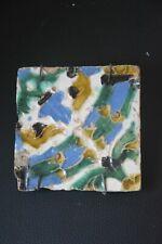 Antique Hispanic tile 15 - 16th century