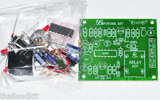 Sound Switch Controller Delay Time Off Relay 12VDC 10A UN-Assembled Kit [FK408]