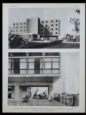 L'ARCHITECTE 1933 PAVILLON SUISSE, LE CORBUSIER, EGLISE STE AGNES MAISONS ALFORT