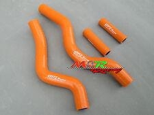 For Suzuki RM250 RM 250 2001-2008 Silicone Radiator Hose orange