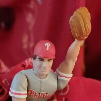 "ADORABLE CURT SCHILLING 4"" FIGURINE PHILADELPHIA PHILLIES, + '93 TRADING CARD!"
