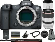 Canon EOS R5 Mirrorless Digital Camera with 70-200mm RF Lens