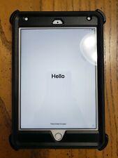 Apple iPad Mini 4th Generation 128GB Silver Wi-Fi + Cellular Otterbox Unlocked