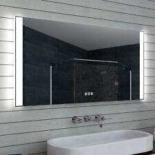 Badezimmerspiegel badspiegel LED Multifunktions-Touchschalter 140cm MLO140L70H
