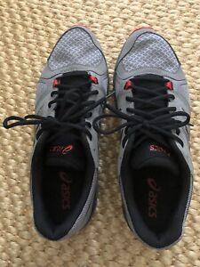 Asic Gel Craze TR Men's 11 Gray Black Red Cross Trainer Sneaker S503Y.