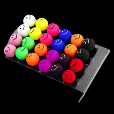 12Pairs/Lot Multicolor Emoji Smile Face Acrylic Ball Stud Earrings Ear Jewelry