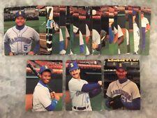 1990 Mothers Cookies Baseball Set Seattle Mariners - Griffey, Johnson, Martinez