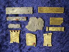 10 pc Pedestal Signs Set Unpainted PewterThomarillion Terrain Dwarven Forge D&D