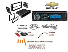 2006-2015 GMC BUICK HUMMER PONTIAC SATURN SINGLE DIN Stereo Kit AM/FM CD MP3